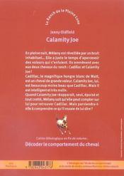 Le Ranch De La Pleine Lune T.3 ; Calamity Joe - 4ème de couverture - Format classique