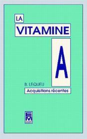 La vitamine a - Couverture - Format classique