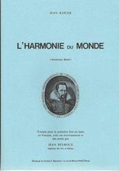 L'harmonie du monde ; harmonices mundi - Intérieur - Format classique