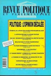 Rpp T.969 Janvier-Fevrier 1994 ; Politique Opinion - Couverture - Format classique