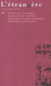 Etrangere 3/2003 - Intérieur - Format classique