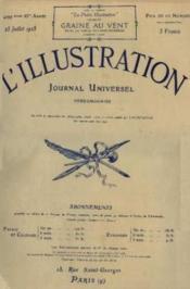 L`illustration. journal hebdomadaire universel. n°4299, 83ème année, 25 juillet 1925 - Couverture - Format classique
