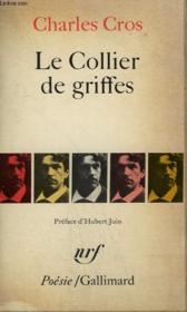 Le Collier De Griffes. Collection : Poesie. - Couverture - Format classique