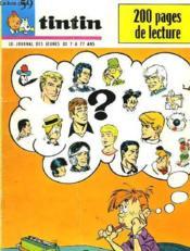 Tintin N°1087- N°1088 - Couverture - Format classique