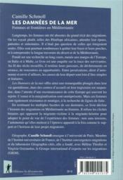 Les damnées de la mer ; femmes et frontières en Méditerranée - 4ème de couverture - Format classique