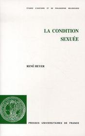 La condition sexuée - Intérieur - Format classique