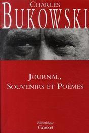 Journal, souvenirs et poèmes - Intérieur - Format classique