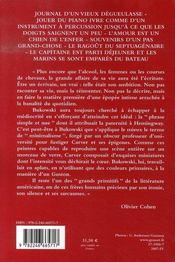 Journal, souvenirs et poèmes - 4ème de couverture - Format classique