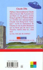 Claude Zilla - 4ème de couverture - Format classique