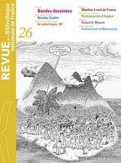REVUE BNF T.26 ; bandes dessinées - Intérieur - Format classique