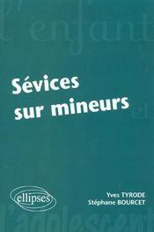 Sevices Sur Mineurs - Intérieur - Format classique
