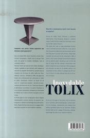 Inoxydable tolix - 4ème de couverture - Format classique