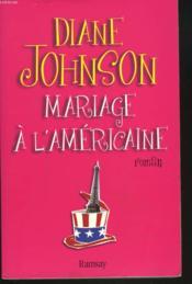 Mariage a l americaine - Couverture - Format classique
