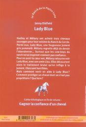 Le Ranch De La Pleine Lune T.5 ; Lady Blue - 4ème de couverture - Format classique
