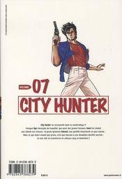 City hunter t.7 - 4ème de couverture - Format classique