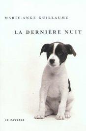 La Derniere Nuit - Intérieur - Format classique