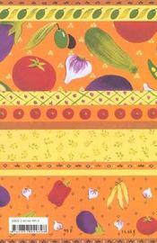 Tians et petits farcis voyages gourmands - 4ème de couverture - Format classique