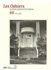 Cahiers Du Musee National D'Art Moderne N.66 - Couverture - Format classique