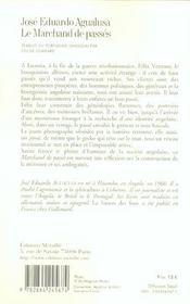 Marchand De Passe (Le) - 4ème de couverture - Format classique