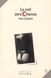 La Nuit Sera Chienne - Couverture - Format classique