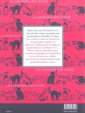 Histoires De Chats - 4ème de couverture - Format classique