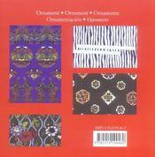 Ornement japonais - 4ème de couverture - Format classique