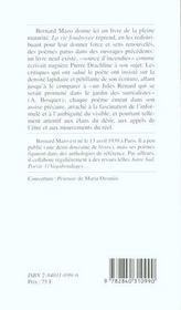 La vie foudroyée - 4ème de couverture - Format classique
