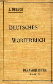 Deutsches Worterbuch - Couverture - Format classique