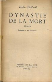 Dynastie De La Mort, Tomes 1 Et 2 - Couverture - Format classique