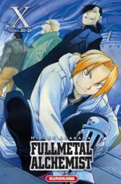 Fullmetal alchemist ; INTEGRALE VOL.10 ; T.20 ET T.21 - Couverture - Format classique
