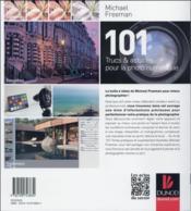 101 trucs et astuces pour la photo numérique - 4ème de couverture - Format classique