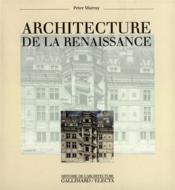Architecture de la renaissance - Couverture - Format classique