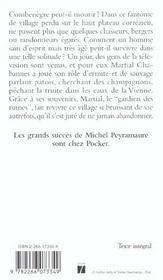 Martial Chabannes, Gardien Des Ruines - 4ème de couverture - Format classique