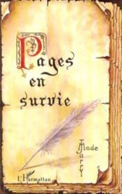 Pages En Survie - Couverture - Format classique