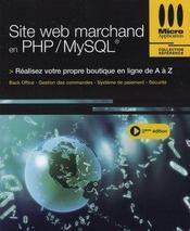 Site web marchand en php/mysql - Intérieur - Format classique