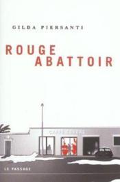 Rouge Abattoir - Couverture - Format classique