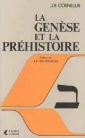 Genese Et La Prehistoire - Couverture - Format classique