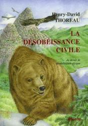 La Desobeissance Civile - Couverture - Format classique