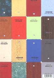 Haus/Exposition Le Plateau 2003 - 4ème de couverture - Format classique