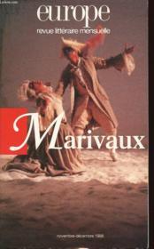Europe Marivaux 811-812 Novembre-Decembre 96 - Couverture - Format classique