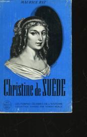 Christine De Suede - Couverture - Format classique