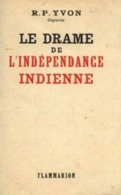 Le drame de l'indépendance indienne - Couverture - Format classique