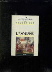 L Exotisme. - Couverture - Format classique