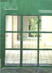 L'Architecture D'Aujourd'Hui, N° 229, Oct. 1983, France Inconnue 1. Habitations Individuelles - Couverture - Format classique