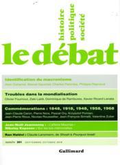 Revue Le Débat N.201 - Couverture - Format classique