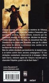 Star wars t.86 ; allégeance - 4ème de couverture - Format classique