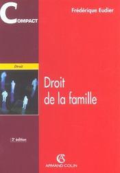 Droit De La Famille - 2e Ed - Intérieur - Format classique