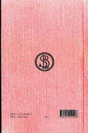 Des termes extrêmes des biens et des maux t.1 ; livres I-II (5e édition) - 4ème de couverture - Format classique