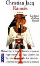 Ramsès t.4 ; la Dame d'Abou Simbel - Couverture - Format classique
