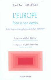 L'europe face a son destin - Intérieur - Format classique